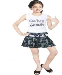 mini skirt and top zig zag