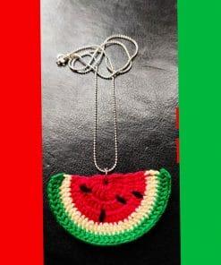 fruitela fabric jewellery set